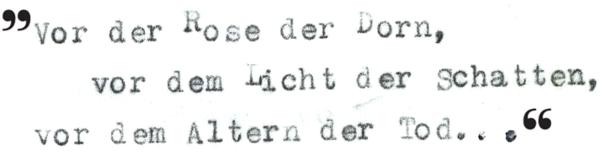 Zitat aus Ave Vergil, 1985