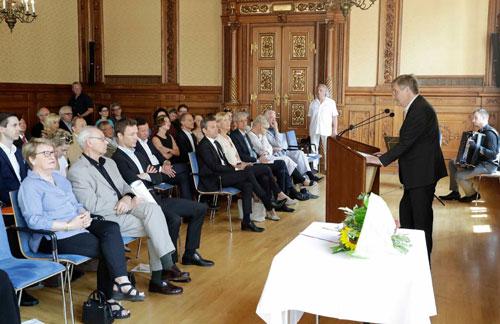 Laudatio von Dr. Fellinger bei der Staatspreisverleihung an Dr. Fabjan