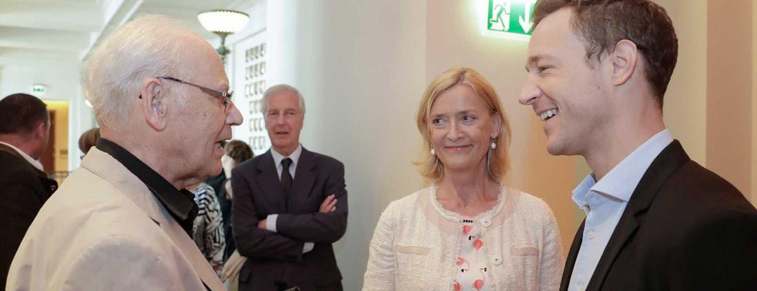 Verleihung des Staatspreises an Dr. Fabjan, Foto BKA / Regina Aigner