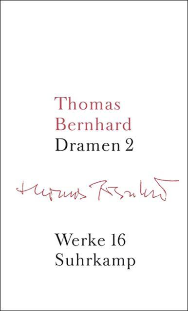 Band 16: Dramen II